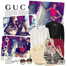"""""""GUCCI"""" by majksister on Polyvore"""