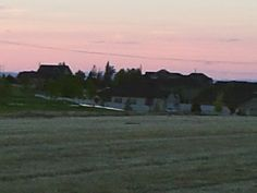 PT 9 NAMPA IDAHO. MAY 15 SUNSET OVER A GOLF COURSE.