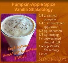 Pumpkin apple shakeology