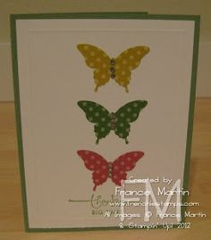 Stamp & Scrap with Frenchie: InColor Butterflies