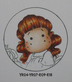 Redhead/strawberry blonde  Copic Marker Europe