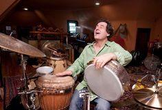 Jamey Haddad leads the Jamey Haddad All-Star Trio Friday night at the Lakeland Jazz Festival