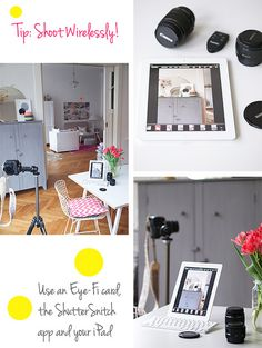 Great Photography Gear For Bloggers by decor8, via Flickr