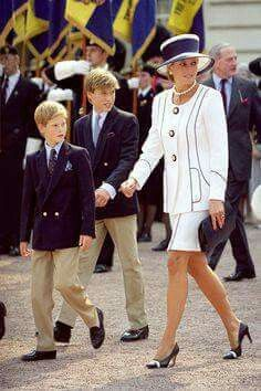 Diana and her Children