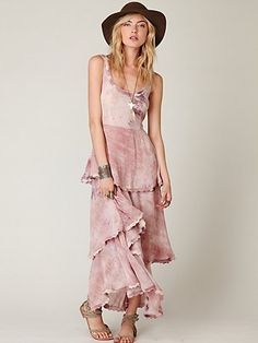 Free People Hippie Trip Maxi Dress at Free People Clothing Boutique - StyleSays