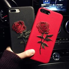 For Apple Iphone 6 8 7 Plus Rose Embroidery Shockproof Phone Case Back Cover. For IPhone XS MAX XR 8 7 Protective Shockproof Tempered Glass Phone Case Cover. Magnetic Milanese Series 3 2 1 Loop Band Strap Stainless Steel for iPhone iWatch. Mobile Phone Cases, Cute Phone Cases, Iphone 7 Plus Cases, Cute Cases, Mobile Phones, Phone Covers, Apple Iphone 6, Iphone 4s, Iphone Charger