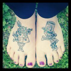 alice in wonderland tattoo | Tumblr