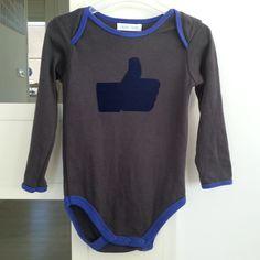 """Facebook """"vind ik leuk"""" shirt www.leukmetkids.nl """"Like"""" t-shirt kids kinderen met sjabloon/patroon flock printable"""