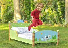 Sunny Safari Toddlers Bed