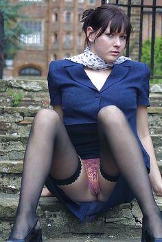 That interrupt accidental upskirts Vintage stocking agree