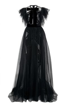This **Elie Saab** Cap Sleeve Gown features a fitted waistline, pleated tulle wide cap sleeves, a pleated skirt, and sheer detail on the bodice. Sheer Wedding Dress, Sheer Dress, Tulle Dress, Cap Sleeve Gown, Sleeve Dresses, Cap Sleeves, Couture Dresses, Fashion Dresses, Night Gown Dress