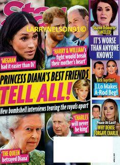Peace At Last, Sharon Osbourne, Star Magazine, John Travolta, Cover Pics, For Stars, Princess Diana, Harry Styles, Magazines