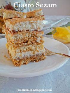 Słodkie niebo: Ciasto Sezam siostry Anastazji