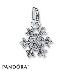Pandora Pendant Clear CZ Sterling Silver