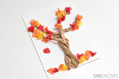 4 Paper bag crafts for fall