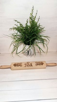 Personalized Rolling Pin Personalized Gift by WildFireFlies