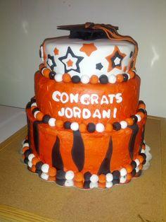 Jordan's Graduation cake