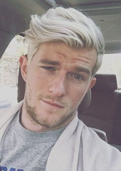 Mens Platinum Blonde Hair Mais