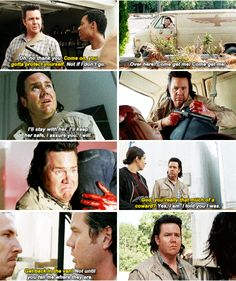 """The Walking Dead 5x14 """"Spend""""  Eugene from coward to hero, great story arc"""