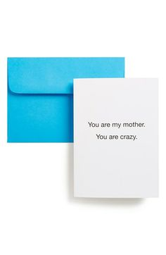 That's All 'You Are My Mother' Card