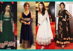 Kareena Kapoor, Bipasha Basu, Aishwarya Rai and Deepika Padukone in Anarkali Suits