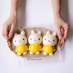 Miffy steamed buns by Little Miss Bento・Shirley シャリー (@littlemissbento)