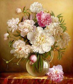 Jarrón von flores