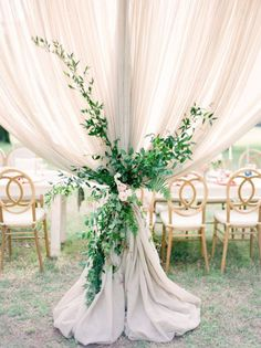 Elegant Pastel Wedding Inspiration Straight Out Of A Fairytale - Bridal Musings Wedding Draping, Wedding Reception Decorations, Boho Wedding, Floral Wedding, Dream Wedding, Wedding Receptions, Bar At Wedding, Elegant Wedding, Neutral Wedding Decor