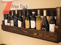 recycled wine racks