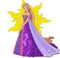 Disney Nerd, Disney Tangled, Disney Fan Art, Cute Disney, Disney Girls, Disney Style, Disney Pixar, Rapunzel, Female Characters