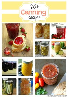 Canning, Canning Recipes, Tomato Canning Recipes