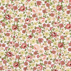 Cotton Flower Zeeland 5 - Katoenen stof bloemenfavorable buying at our shop