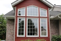 """Check out our website for the """"Before"""" of this window. The transformation is incredible! #Wellington Home Improvements can customize windows for YOUR home to fit YOUR style! www.wellingtonhomeimprovements.com"""