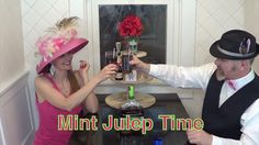 Making A Woodford Reserve Mint Julep For The Kentucky Derby