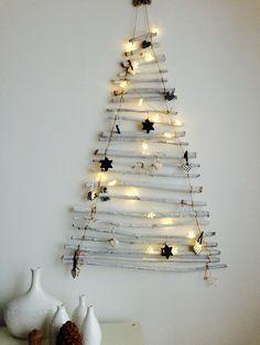White Branches X-mas Tree