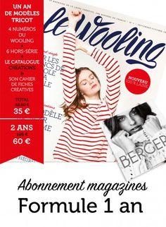Abonnement Le Wooling - Formule 1 an Publications, broderie & tricot Achat en ligne