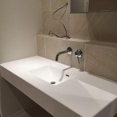 Diy Tools, Powder Room, Sink, Natural Interior, Home Decor, Ideas, Sink Tops, Powder Rooms, Interior Design