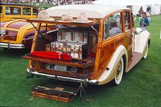 Woodie Feature: English Shooting Brakes - Old Woodies; this pinner's comment:  how very very too too upper class cachet in a plebian sort of way!!