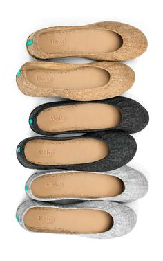 Explore Tieks Vegan Collection! These non-leather flats are made from the finest European textiles and perfect for any occasion. | Tieks Ballet Flats
