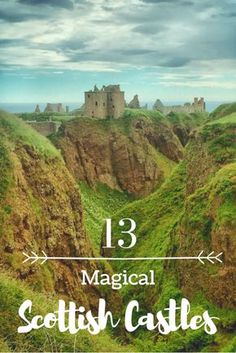 Magical Scottish Castles You Should Visit on Your Scotland Holiday Magical Castles of Scotland. Europe is full of beautiful castles but none as magical as the ones you will find in Scotland. Come discover 13 magical Scottish castles. Scotland Vacation, Scotland Road Trip, Scotland Travel, Ireland Travel, Visiting Scotland, Scotland Hiking, Scotland Castles, Scottish Castles, Scotland Uk