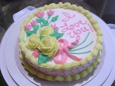 Wilton Course 1 Final Class Cake | Flickr - Photo Sharing!