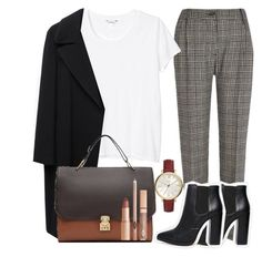 """""""Untitled #262"""" by mariatheblonde ❤ liked on Polyvore featuring River Island, ASOS, Monki, Yohji Yamamoto, Zara and FOSSIL"""