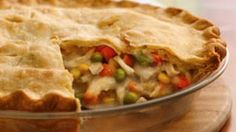 This is one of my favorite turkey pot pie recipes. it is so easy to make.