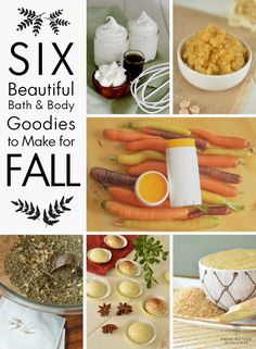 Autumn is a wonderful time to dive in to handmade bath and body! These six projects are great for getting started.