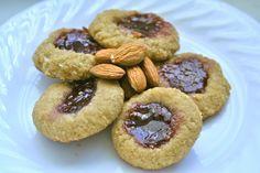 Almond Flour Thumbprint Cookies