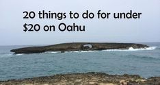 There are so many budget-friendly things you can do on Oahu! Some are major… Hawaii In July, Aloha Hawaii, Hawaii Life, Honolulu Hawaii, Hawaii Travel, Travel Usa, Hawaii 2017, Aloha Travel, Travel Tips