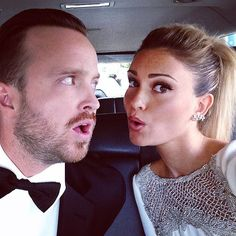You Won't Be Able to Get Enough of Aaron Paul's Romance With Lauren Parsekian: If you follow Aaron Paul and Lauren Parsekian on Instagram, you probably feel like you know them on a personal level.