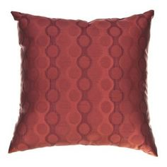 Softline Home Fashions Liona 18'' Pillow in Sangria