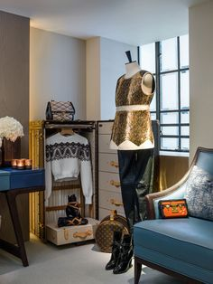 Louis Vuitton's pop-up residence 'L'Appartement Hong Kong', designed by André Fu