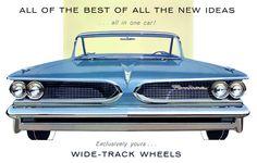 Plan59 :: Classic Car Art :: 1959 Pontiac